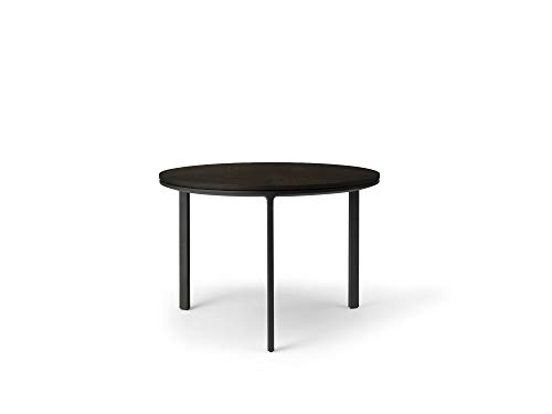 Vipp423 salontafel donker eiken, Ø60cm