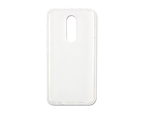 etuo Handyhülle für Wiko WIM Lite - Hülle FLEXmat Hülle - Weiß - Handyhülle Schutzhülle Etui Hülle Cover Tasche für Handy