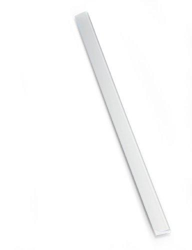 Durable 293319 Klemmschienen A4, für ca. 60 Blatt, 10 Stück, transparent