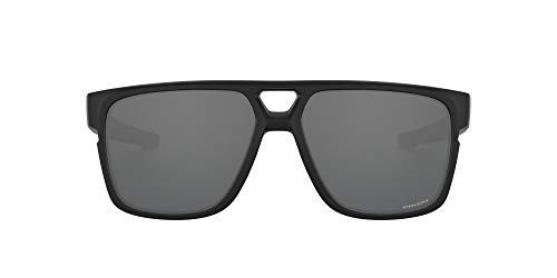 Oakley Herren Crossrange 0OO9382 Sonnenbrille, Matte Black/Prizm Black Iridium, 60