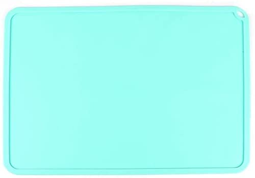 Good Stability Printer Accessories Silicone Slap Mat Blue/Gray 410 310mm Clean-up Or Resin Transfer to Protect Work Surface for D-LP S-LA 3D Printer Accessories 3D Printer Parts (Color : Blue) (Color