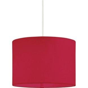 Abat-jour en tissu ColourMatch de haute qualité – Rouge coquelicot