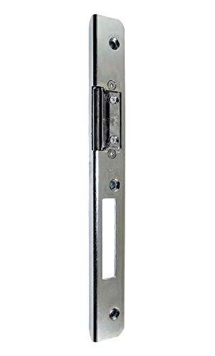 GU BKS Secury Sicherheits Haustür Schließblech 250x28x9x3mm mit AT-Stück verstellbar DIN Rechts