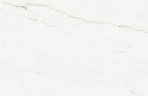 Fliesen in Marmoroptik, großformatige Fliese, XXL Fliese – Calacatta, 600x900x12 mm, poliert