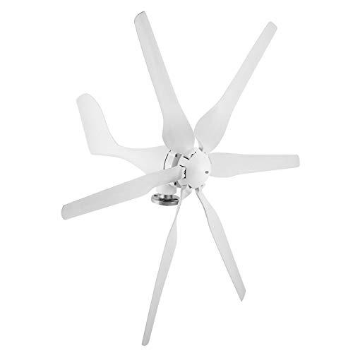 BananaB P300W windgenerator 12v windkraftanlage turbinengenerator 6 Blades 900R/MIN Wind Turbine Generator (P300W)