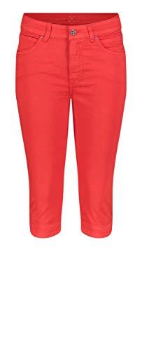 MAC Jeans Damen Hose Dream Capri Cotton Super Stretch fade Out Satin 38/19