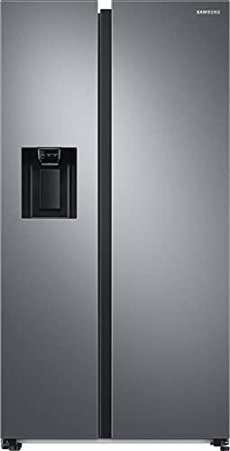 Samsung RS6GA8531S9, EG SidebySideKühlschrank mit SpaceMaxTechnologie, 409 Liter Kühlschrankvolumen, 225 Liter Gefriervolumen, 351 kWh/Jahr, Edelstahl Look