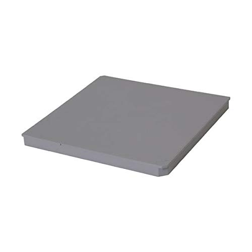 Couvercle piéton gris CORPCT pour regard 25x25x25cm