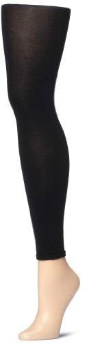 ESPRIT Damen Leggings Cotton - Baumwollmischung, 1 Stück, Schwarz (Black 3000), Größe: L