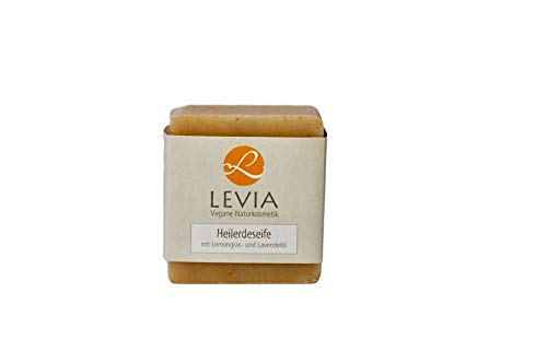 Levia Heilerdeseife mit Lemongras und Lavendelöl 100g