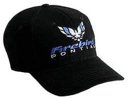 Hot Rod Plus Compatible with Pontiac Firebird Black Baseball Cap