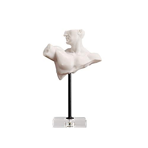 NHP Büstenfigur Ornamente im nordischen Stil, Modellzimmer Musterzimmer Wohnzimmer TV-Schrank Schreibtisch Arbeitszimmerdekoration