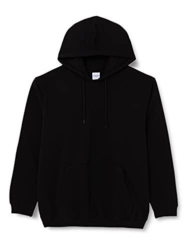 JACK & JONES JORBRINK Sweat Hood PS Sweatshirt Capuche, Noir, 6XL Homme