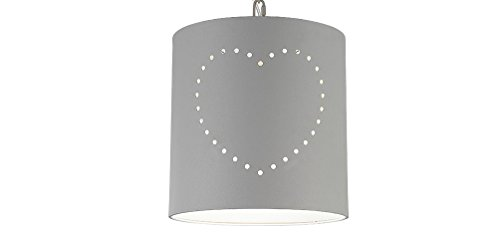 Plafondlamp Fenna hanglamp Shabby Industrie Design Metaal grijs