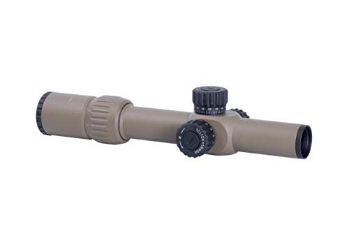Monstrum G3 1-6x24 First Focal Plane FFP Rifle Scope with Illuminated MOA Reticle (Flat Dark Earth)