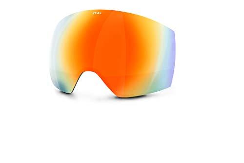 Zeal Optics Hemisphere Goggle Zubehör Linse – Photochromische, polarisierte & optimale Ersatzgläser für Ski- und Snowboard-Brille, OTG Ready