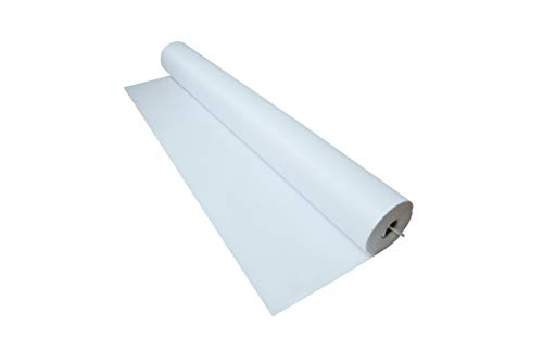 Trademark Innovations 100' x 3' White Wedding Aisle Runner Decoration