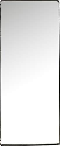 Kare Design Spiegel Ombra Soft, schwarz, moderner Wandspiegel, edler Badspiegel, großer rechteckiger Schminkspiegel, eleganter Spiegel, (H/B/T) 200x80x5cm