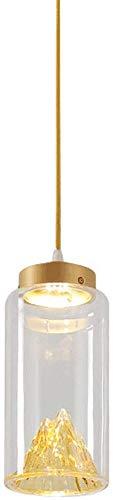 Lámpara de diseño de personalidad creativa posmoderna Sala de estar minimalista nórdica Restaurante Bar Mesa Lámpara de araña Jinshan Lámpara de Jinshan Personalidad creativa Lámpara colgante simple, fuente de luz LED Rollsn