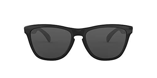 Oakley FROGSKINS (A) 9245 Gafas, POLISHED BLACK/GREY, 54 Hombres