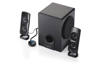 RadioShack 2.1 Multimedia Speakers (With Control Pod and Premium Subwoffer)