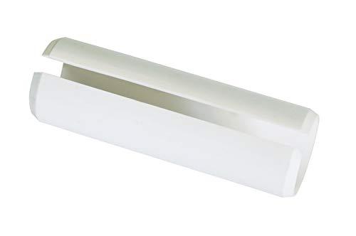 Gardinia Verbinder für Gardinenstangen mit Ø 28 mm weiß 8,3