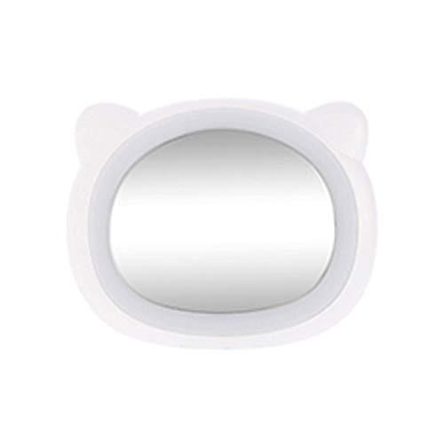 Miroir de Maquillage LED Miroir LED Éclairage LED Recharge USB Mini Compact Mignon Aspect de la Mode HD Miroir Plat