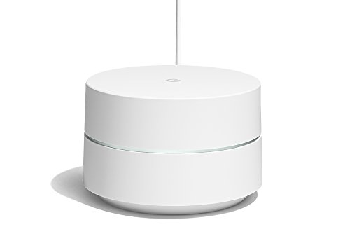 Google Wifi - Router inalámbrico (1 Pack, Español/Italiano/Portugués), color blanco