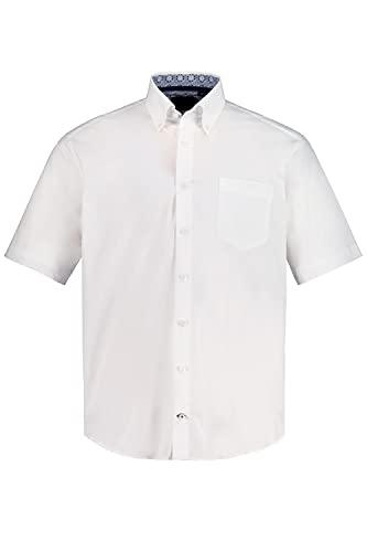 JP 1880 Hommes Grandes Tailles L-8XL Chemise FLEXNAMIC®, col Droit, Modern Fit Blanc 3XL 749791 20-3XL