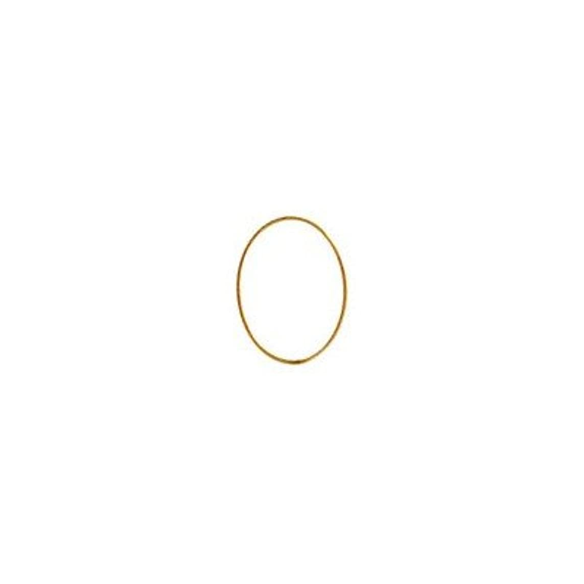 予見する皿絶壁シャレドワミュゼ BLC ブローチ オーバル 9×6.5mm ゴールド 6P