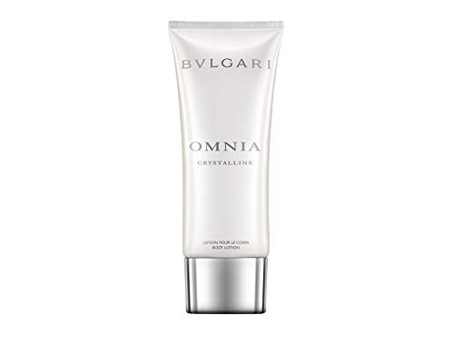 Bvlgari Omnia Crystalline femme/woman, Bodylotion 100 ml, 1er Pack (1 x 191 g)