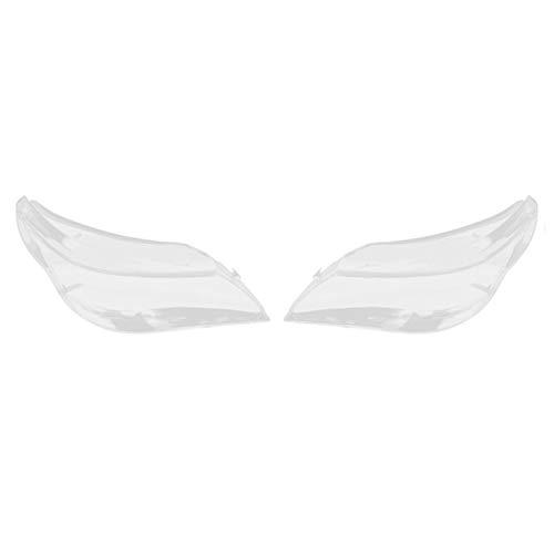 Auto Objektiv Shell Auto-Scheinwerfer Lampshade 2x Auto-Scheinwerfer-Objektiv Glas Lampcover Abdeckung Lampshade Helles Shell Produkt Gepasst Fit For BMW E60 E61 2003-2010-Rechts Und Links Auto Objekt