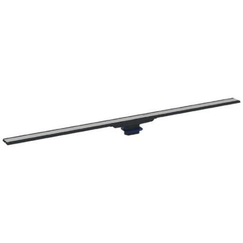 Geberit douchegoot CleanLine60 (roestvrij staal, optisch smal, compact, 30 x 90 cm), zwart, 154.456.00.1