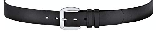 Held Ledergürtel aus Rindleder, schwarz, Größe 95 cm