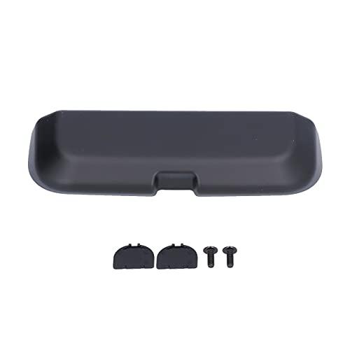 Estuche para gafas de coche, soporte para gafas de sol Estuche para gafas de coche, caja de almacenamiento, asa superior montada, compatible con Macan 2014-2019(Negro)