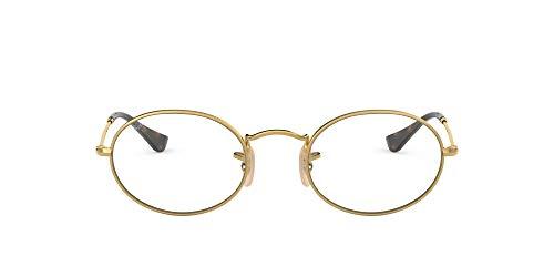Ray-Ban 0rx 3547v 2500 48 Monturas de gafas, Arista, Unisex