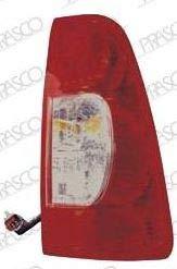 GROUPE OPTIQUE ARRIERE DROIT blanc/rouge-FONDS FUME ' 63019237