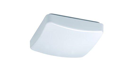 Reality Leuchten LED plafondlamp, 9 W, vierkant LxB: 21x21cm 9W