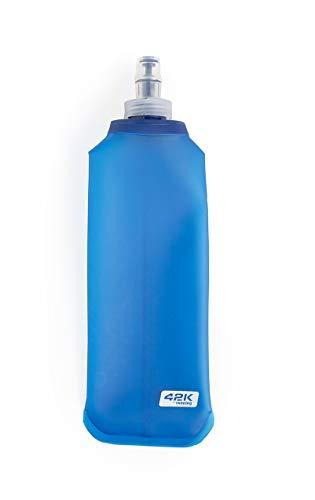 42K Running - Botella Flexible Blanda SoftFlask TPU 42K Atlas - Azul 500 ml