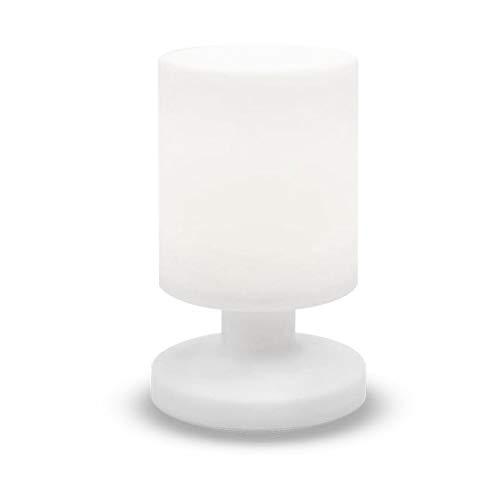 LUMISKY LILY W26 - Lámpara de mesa, color blanco