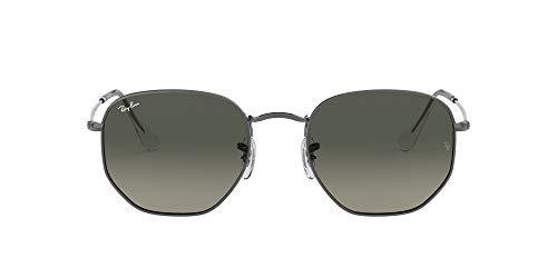 Ray-Ban 0RB3548N Gafas de sol, Gunmetal, 47 Unisex