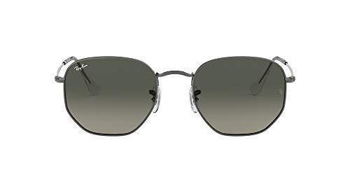 Ray-Ban 0RB3548N Gafas de sol, Gunmetal, 50 Unisex