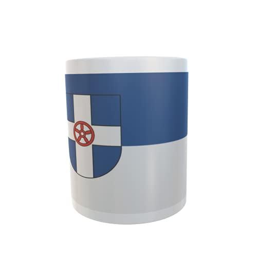 U24 Tasse Kaffeebecher Mug Cup Flagge Geseke
