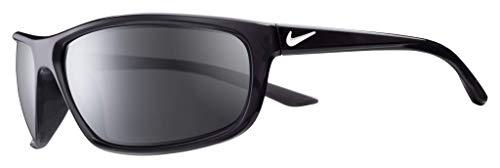 Nike Sun Herren Rabid Sonnenbrille, schwarz, 64 mm