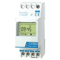 Orbis data micro+ - Interruptor horario digital data micro+1 circuito 48v