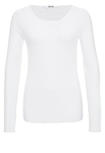 Wolford Damen Pure Pullover White S