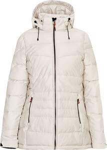 Killtec Drinna Dames gewatteerde jas, dons-look, winterjas met afritsbare capuchon, 10.000 mm waterkolom