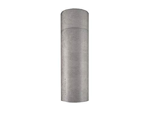 Faber Cylindra Isola Gloss Plus campana de isla 335.0492.564-Cemento