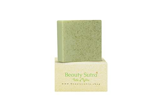 BEAUTY SUTRA Handmade Natural Luxury MORINGA Soap- with MORINGA OIL, MORINGA POWDER, ALOE VERA AND GOAT MILK -REJUVENATING, MOISTURIZING AND AROMATIC SOAP