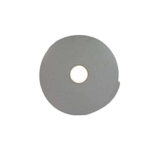 Ruban mousse simple face PVC gris Norton 3mm x 19mm x 30m